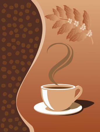 Een kopje koffie Stockfoto - 9255092