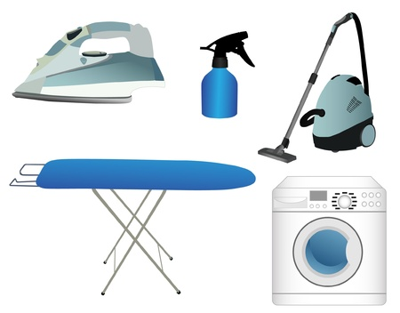 ironing board: household appliances