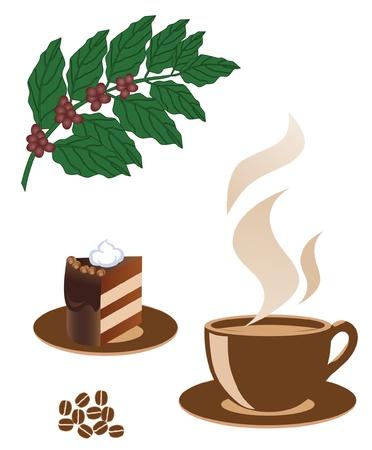 Kopje koffie Stockfoto - 9327104