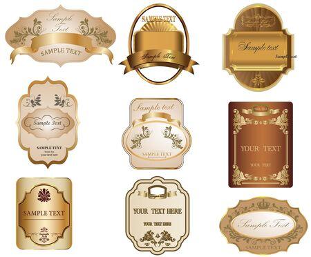 label frame: Labels