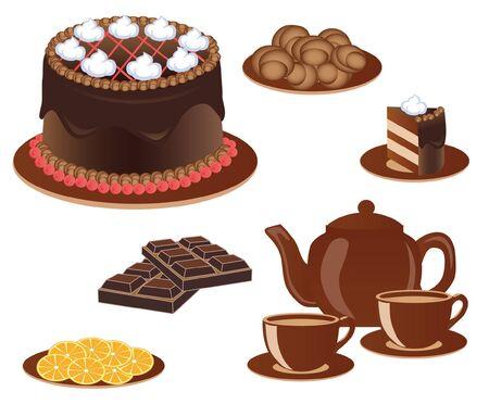 cream pie: sweetness Illustration