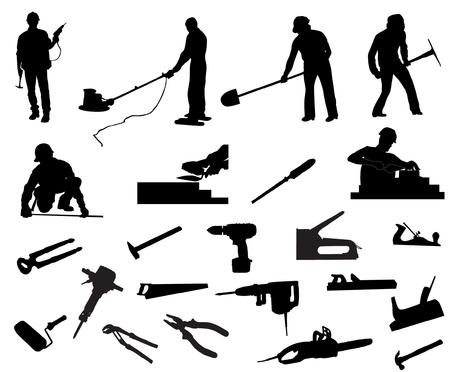 builder Stock Illustratie