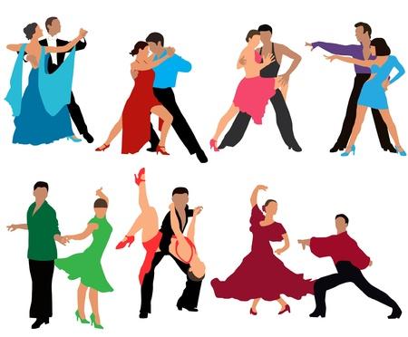 baile latino: bailar