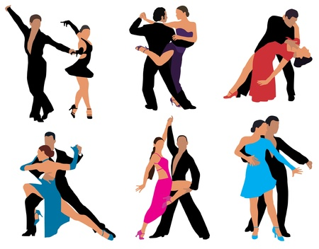 latin american: dance  Illustration