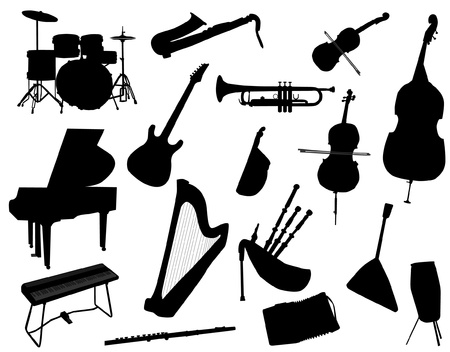 music instrument Stock Illustratie