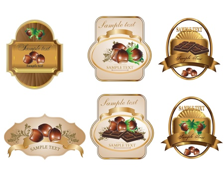 hazelnut: Label Illustration