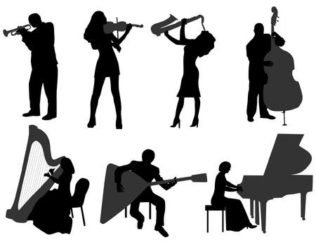 musician Vetores