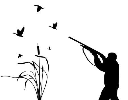 pantanos: Cazador