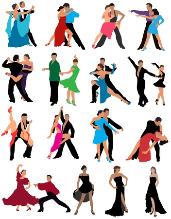 latin americans: Dance couples