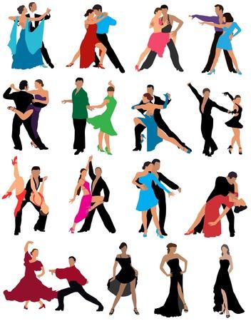latin american boys: Dance couples