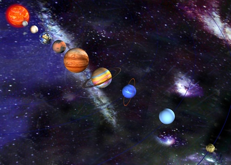 parade of the planets