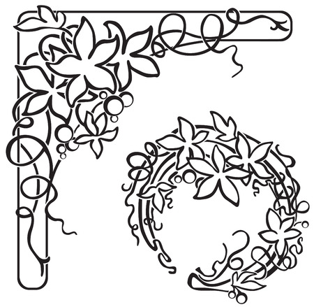 ornately: Border and card decoration