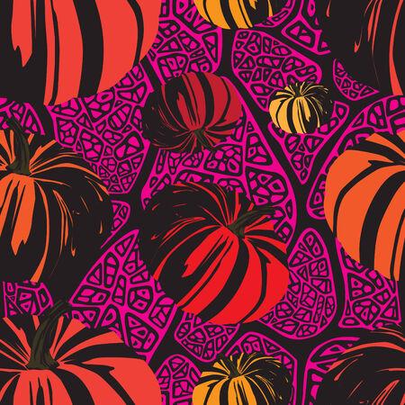 halloween pattern: Halloween seamless pattern