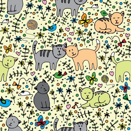 seamlessly: modello senza soluzione di continuit� con i gatti