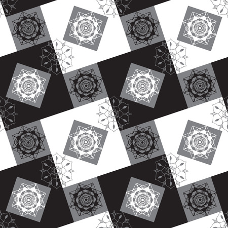 ornately: geometric background with patterns