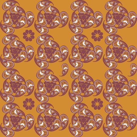 Seamless pattern with Middle Eastern ornament. Geometrical motifs of Tajik carpets. Illusztráció