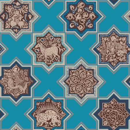 Seamless pattern. Ornament