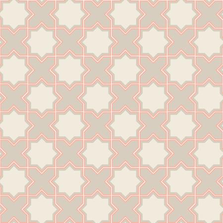 Geometric pattern in oriental style. Seamless pattern.
