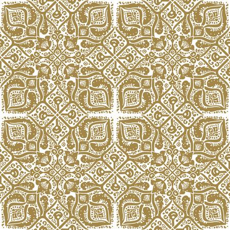Persian pattern on a white background. Seamless pattern.