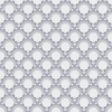 Seamless pattern with light geometric pattern. Ilustração