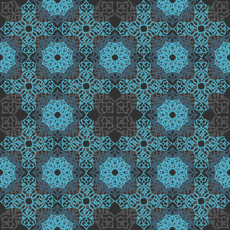 Seamless pattern with ornate patterns.