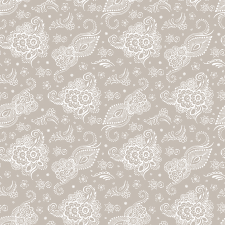 Beige background or white patterns. Seamless pattern. Ilustração