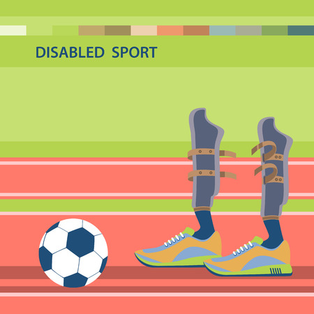 competitions: Disabled athletes sport competition.International sports competitions for people with disabilities.