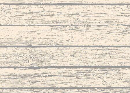 Old wooden planks texture Illustration