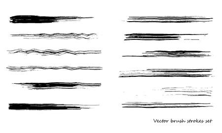 Vector brush Stroke