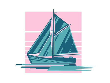 Sailing ship logo