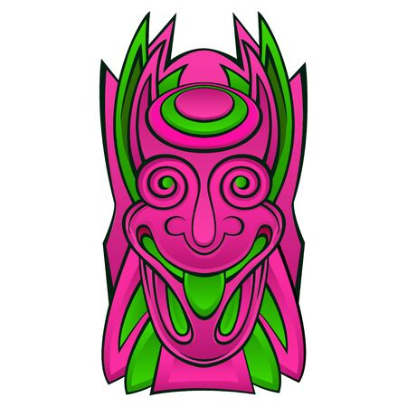 Tiki idol mask