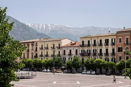 Piazza Giuseppe Garibaldi is the largest square in the city of Sulmona, Abruzzo