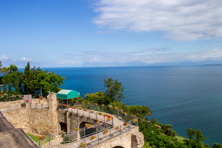 Agropoli, pearl of Cilento, view of the Medieval Castle Editorial