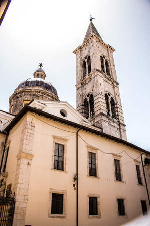 The complex, dedicated to the SS. Annunziata and constituted by the church with the annexed palace, Sulmona Editorial