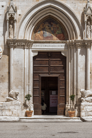 The cathedral dedicated to San Panfilo Vescovo, patron saint of the city, is the oldest temple in Sulmona Editorial