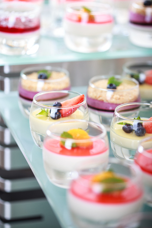 Buffet catering, on the table. Stock Photo