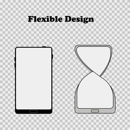 Vector illustration for flexible design mobile flat design EPS 10