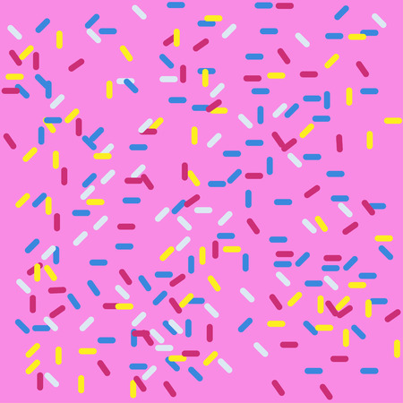 Sweety Background in pink color donut and wallpaper