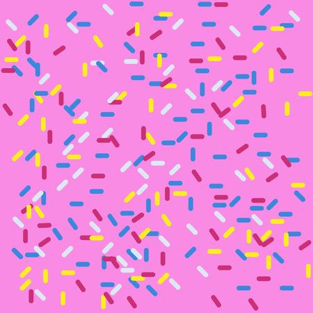 Sweety Hintergrund in rosa Farbe Donut und Tapete