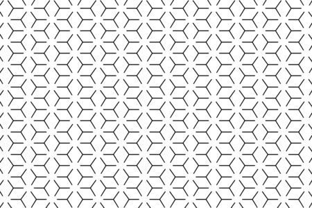 Geometric seamless line pattern. Minimalistic decorative texture. Vector abstract pattern. EPS 10