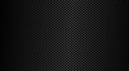 Metal texture in modern style. Metal steel grid. Graphic vector art. Stainless steel. Perforated sheet metal. EPS 10