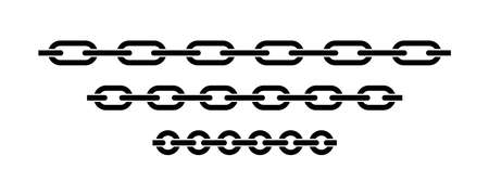 Chain icon vector isolated. Vector connection concept. Chain solid icon. Set of chain vector signs or symbols. EPS 10