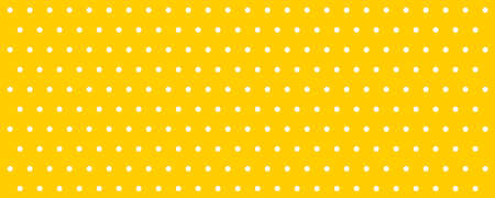Dot pattern yellow polka background. Abstract pattern yellow with dot. Abstract geometric shape. Geometrical backdrop. Polka dot fabric. Dotted geometric pattern. EPS 10