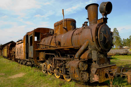 Old Rusty steamtrain