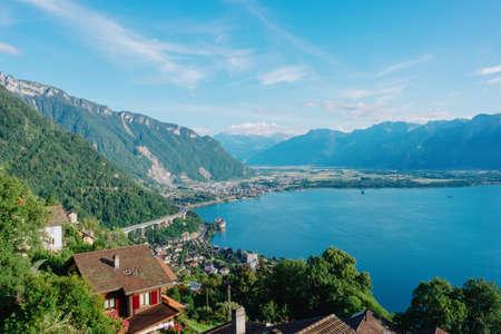 Lake Geneva view from Glion