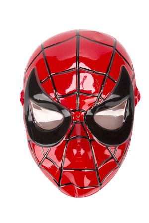 Spider Man mask photo