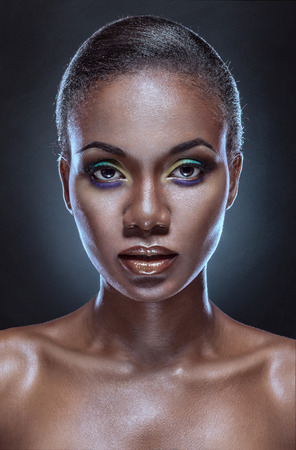 african culture: Beauty portrait of handsome ethnic african girl. Always more on my portfolio