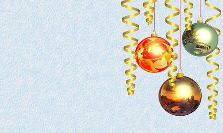 Christmas and New Year's background Stock Photo - 11708626