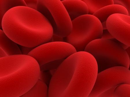 celulas: Elementos de la sangre - los gl�bulos rojos encargados de transportar ox�geno m�s, la regulaci�n del pH sangu�neo, un alimento y la protecci�n de las jaulas de un organismo Foto de archivo