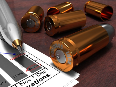 In business as well as in shooting sometimes there are misfires and the idea-bullet instead of reaching the planned purpose does not take off at all from a trunk, it only slows down movement to success